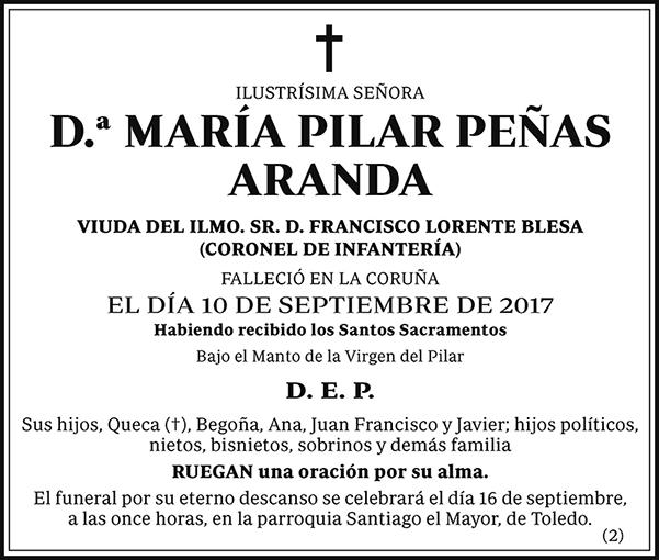 María Pilar Peñas Aranda